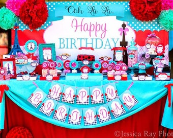 Princess Party Complete Belle Birthday Girl Birthday Party Etsy