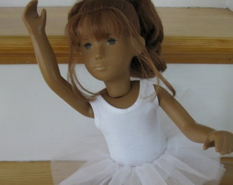 Ballett Tutu und Trikot Outfit für Sasha Mädchen Sasha Baby oder Sasha Toddler Puppe Ballettschuhe optional