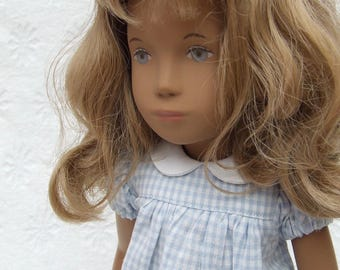 Ready to Ship - Short Sleeved Classic Gingham Dress Outfit for Sasha doll Girl, Toddler or Baby.