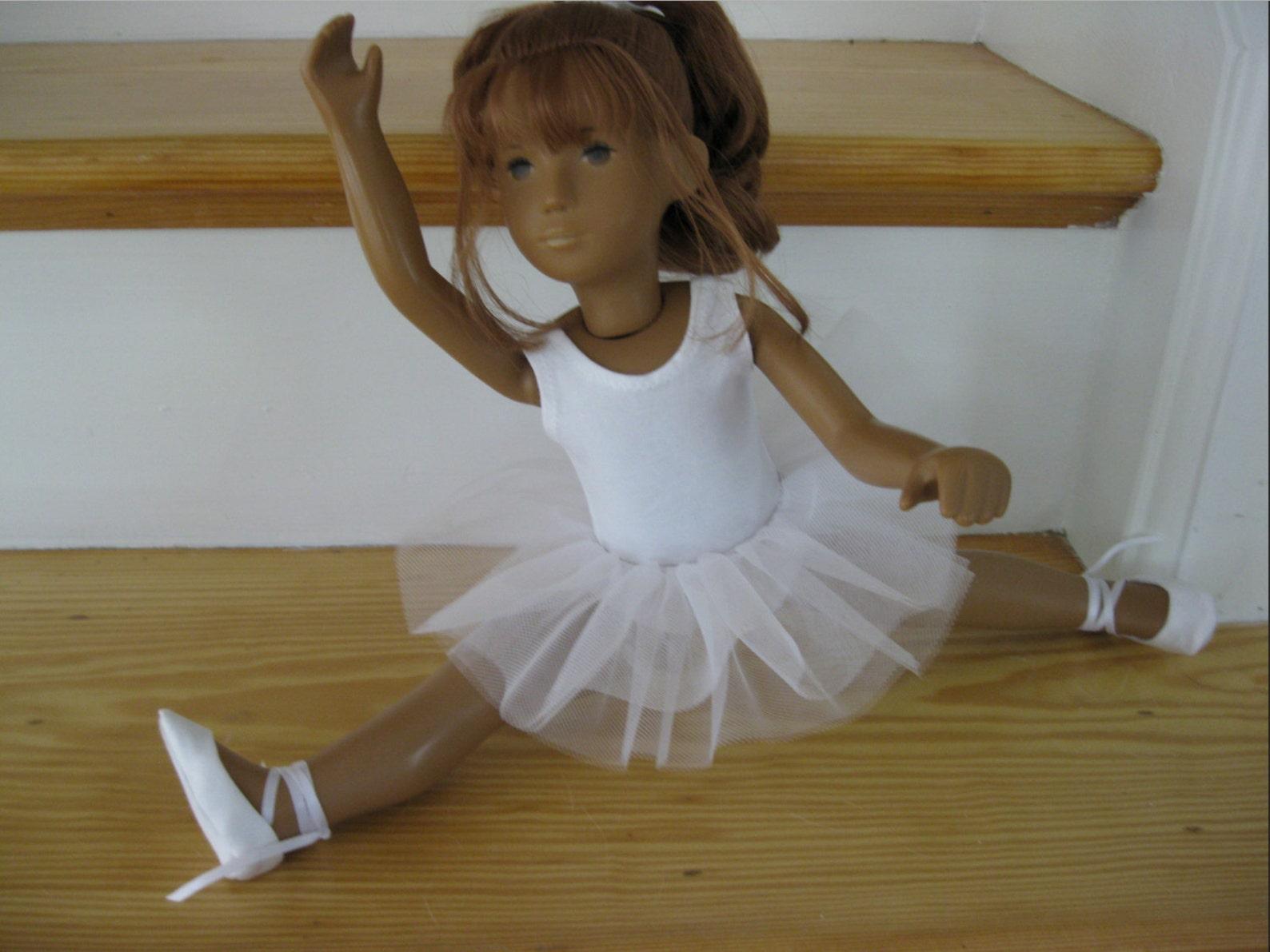 ballet tutu and leotard outfit for sasha girls sasha baby or sasha toddler doll ballet shoes optional