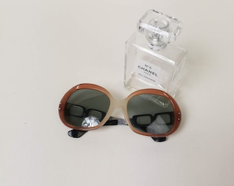 70s sunglasses   1970s large sunglasses   Gradient vintage sunglasses
