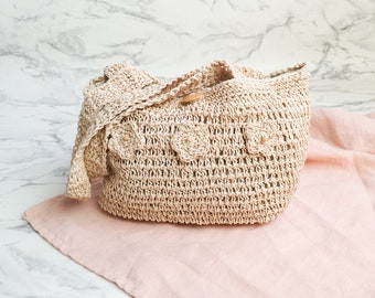 Natural straw bag  5102b3314a88c