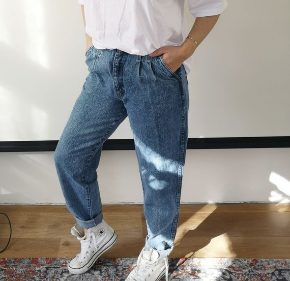 Vintage High Waisted Jeans | Vintage Bill Bass 90s