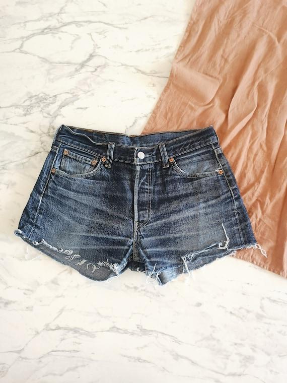 Levi's 501 cuff off denim shorts | Levi's jeans sh