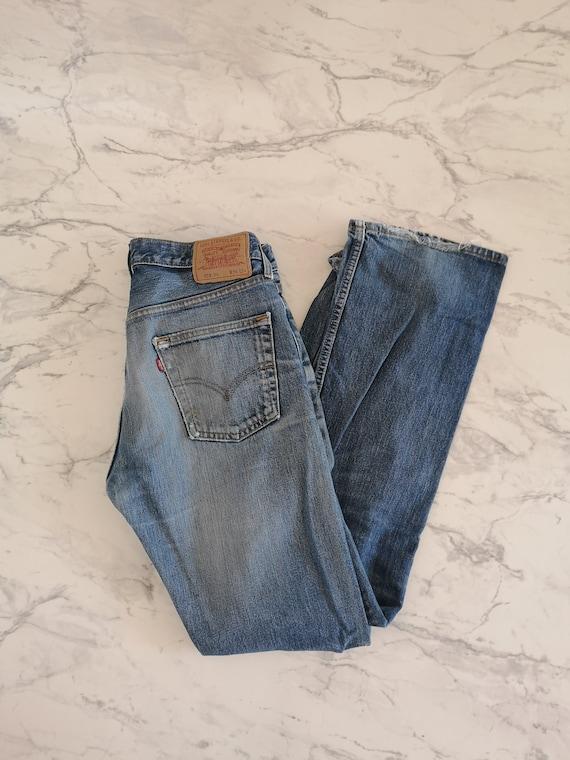 Levi's 555 jeans | Levi's denim jeans | Blue Levi… - image 1