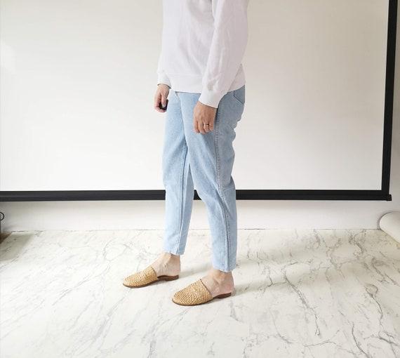 Mom jeans | High waist mom jeans | High waisted 80