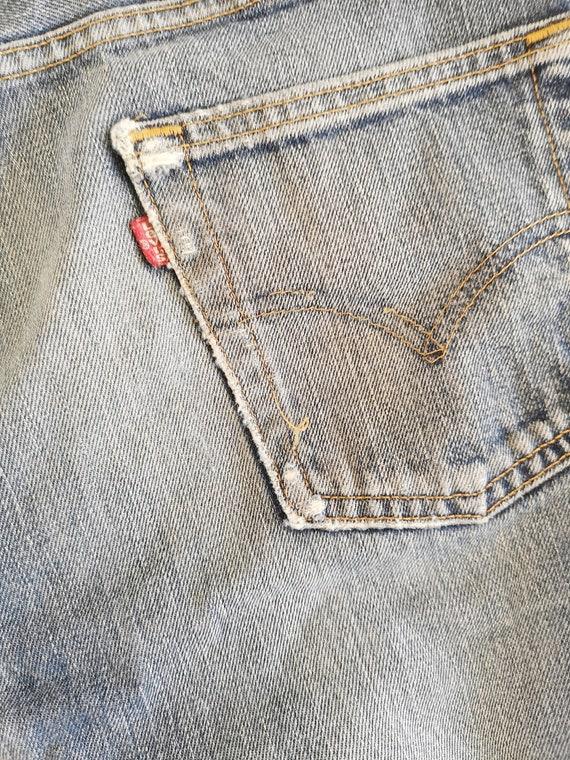 Levi's 555 jeans | Levi's denim jeans | Blue Levi… - image 7