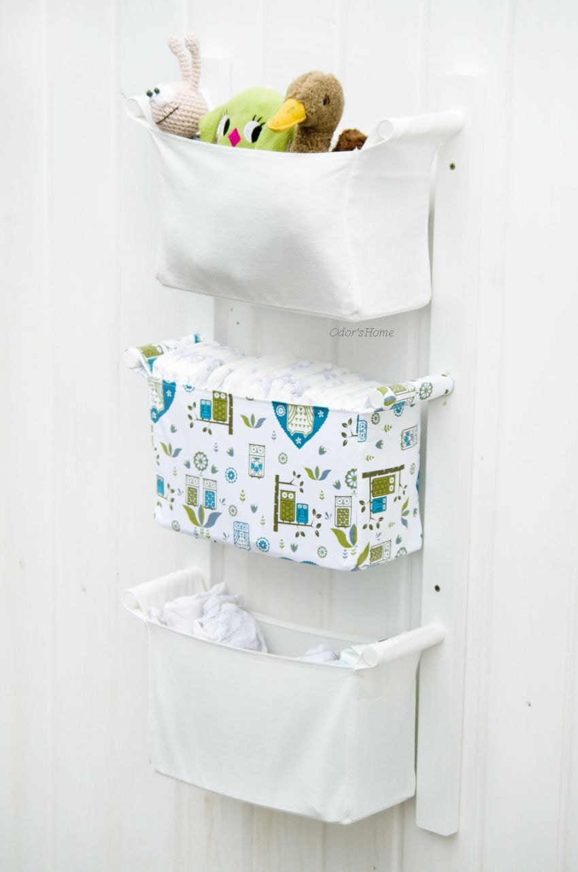 Baby Room Organizer Nursery Storage Bins Fabric Nursery Etsy