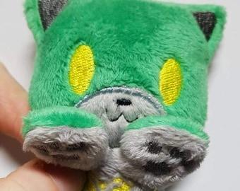 Cutie peluche Voltron-inspiré kitty (front, Keith, Lance, quignon, Shiro, Allura, Voltron, Voltron + Allura) - réalisé sur commande