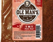 Award Winning! Ole Man's Spice Rub & Seasoning-Mr. TNT-Mild Heat -5 Pack-Blend-Very Low Salt! Gluten Free! No MSG!