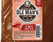 Award Winning! Ole Man's Spice Rub & Seasoning-Mr. TNT-Mild Heat -5 Pack-Blend-Very Low Salt! Gluten Free! No MSG! Free Shipping!