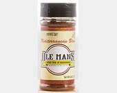 Award Winning! Ole Man's Spice Rub & Seasoning - Mediterranean Blend 1-4.4oz.Gluten Free! No MSG! Very Low Salt! Buy 2 get 1 Free!