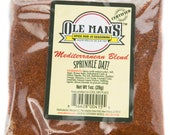 Award Winning! Ole Man's Spice Rub & Seasoning -Mediterranean Blend-5 packet Seasoning Bundle-Gluten Free! Share! Free Shipping!
