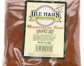 Award Winning! Ole Man's Spice Rub & Seasoning -Mediterranean Blend-5 packet Seasoning Bundle-Gluten Free! Share!