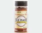 Award Winning! Ole Man's Spice Rub & Seasoning - Mediterranean Blend 1-4.4oz.Gluten Free! No MSG! Very Low Salt! Free Shipping!