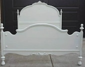 Charming Shabby Cottage Chic full bed frame