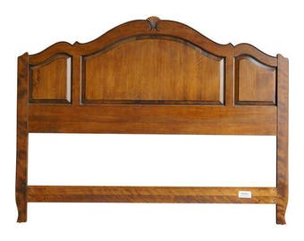 Ethan Allen Country French Queen Panel Headboard ~ French Provincial Headboard ~ Queen Headboard
