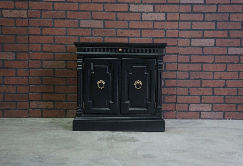 Nightstands ~ Chairside Chests ~ Bedside Tables ~ French Regency Nightstands by Drexel Heritage ~ Pair