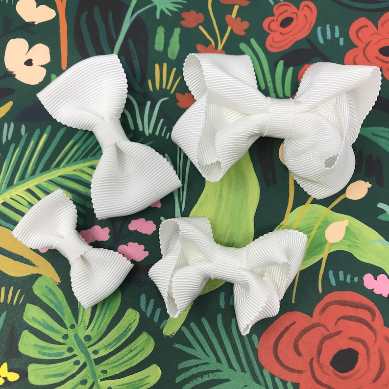 Luxe Bows Collection in Coconut Milk // Luxe Modern Bow // image 0