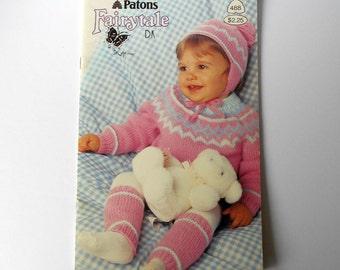 0043207281fc Patons Beehive 420 Pretty Baby Mignon Bébé Knitting Pattern