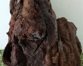 Porous Lava Rock Plant Attachment ~ 1 Red Mountain ~ Buy one get one Free ~ 7 - 9 inches