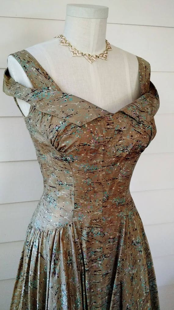 1950s Cocktail Dress - S