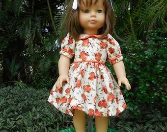 Light Pink Diamond Sandals fits American Girl Doll