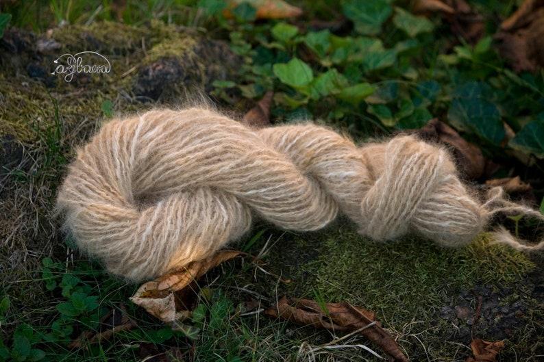 100/% PURE NATURAL DOG/'s down hair wool YARN  craft