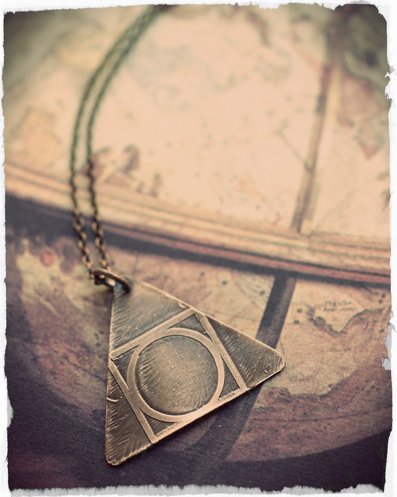 Hermetic Seal of Light Alchemy symbol necklace Quintessence image 0
