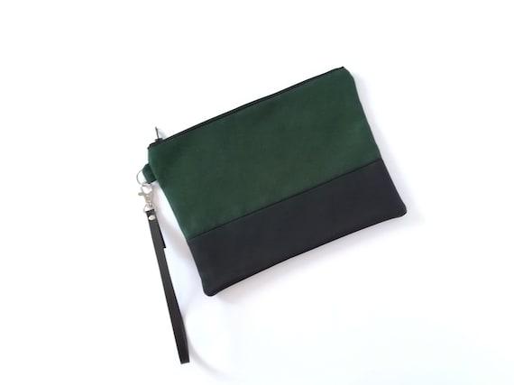 pequeño Etsy mano de bolso verde verde de bolso bolso Bolso xwR1qBfc
