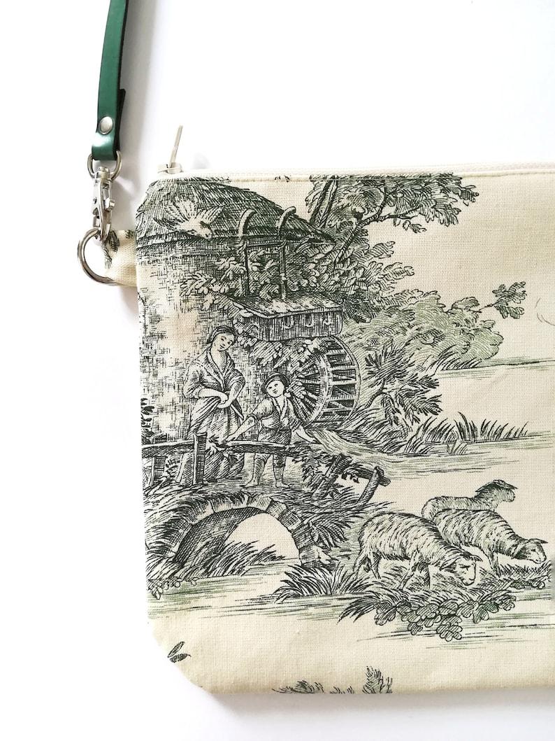 little shoulder bag Green bag Countryside green clutch vintage handbag vintage crossbody bag green purse