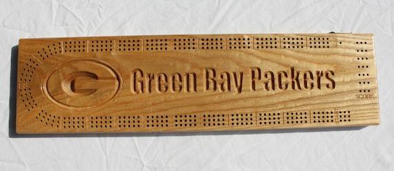Green Bay conditionneur de cribbage fabriqué à partir de frêne noir