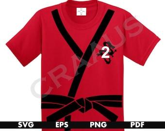 Ninja Birthday, Ninja Birthday Shirt, Ninja Shirt, Karate Svg, Shirt Svg, Svg Files, Svg Files for Cricut, Shirt Svg Files, Ninja svg
