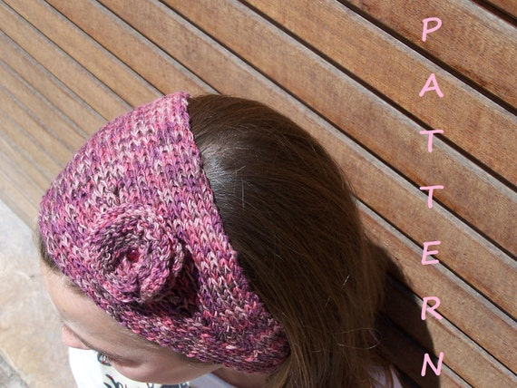 Headband Knitting Pattern Free Knitting Scarf Pattern Etsy