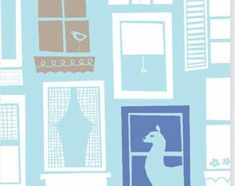Window to My Heart Modern Home by Monaluna Organics 1 Yard Cut