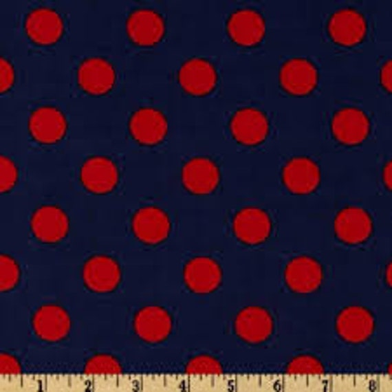 1 yard Listing Michael Miller Quarter Dots in Twilight