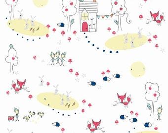 Enchant Main in White: Natalie Lymer - 1 Yard Cut