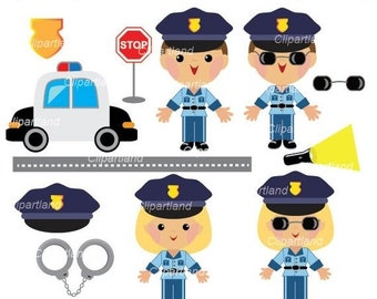 Police Car Clipart Etsy