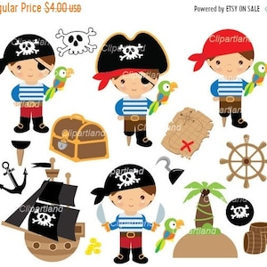 BUY 2 GET 1 FREE! Treasure Bunting Commercial /& Personal Pirates Clip Art Pirate Clipart Whale Nautical Flag Anchor Pirate Ship