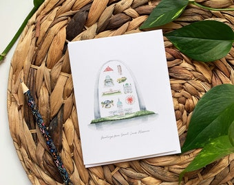 St. Louis Greeting Card, Greetings from St. Louis Card, Blank St. Louis Card, St. Louis Thank You Card, St. Louis Arch Card, Gateway Arch