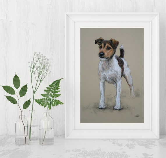16 Images To Choose From Jack Russell Mousemat by UK artist