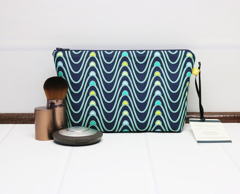 Small Cosmetic Bag  Travel Makeup Bag  Toiletry Bag for image 0