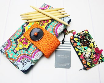 DPN Knitting Needle Case - Knitting Needle Holder - DPN Organizer Case - Double Point Needle - Sock Knitting Needle - Needle Caddie