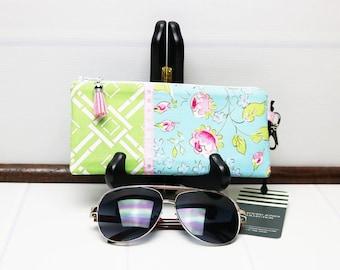 Zipper Glasses Case, Readers Case, Sunglasses Case, Eyeglass Holder, Spectacle Case, Floral Glasses Case, Eyeglasses Case