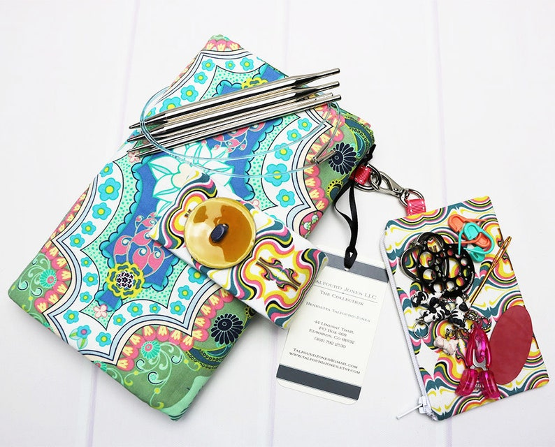 Interchangeable Knitting Needle Case  Knitting Needle Holder image 0