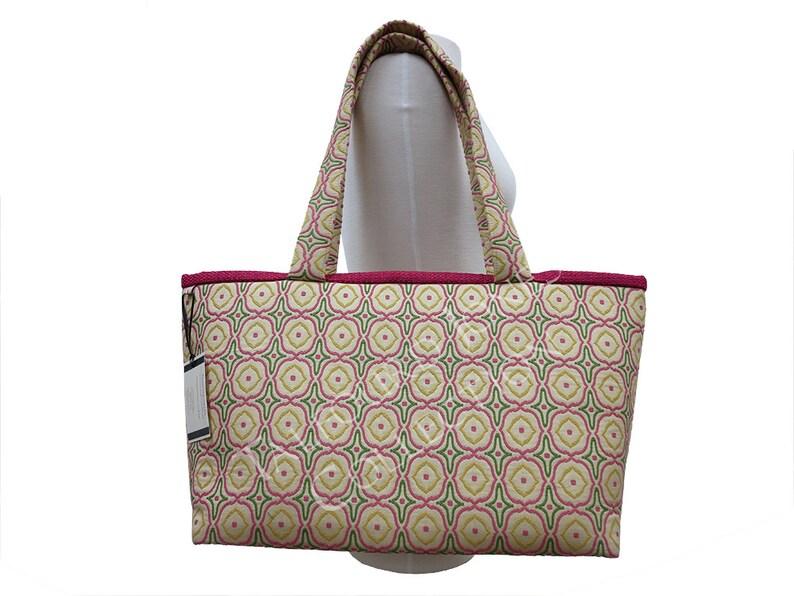 Knitting Project Bag  Knitting Bag  Ladies Overnight Bag  image 0