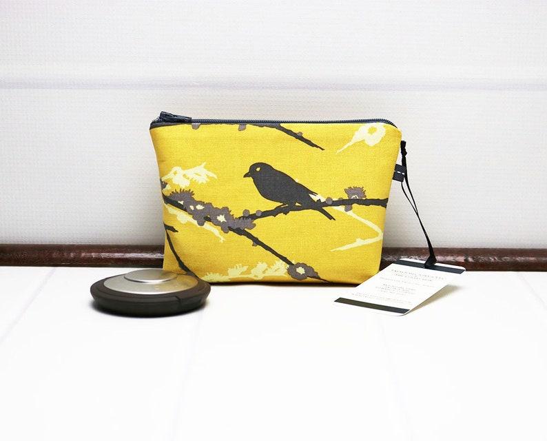 Mini Makeup Bag  Mini Cosmetic Bag  Mini Purse Pouch  Mini image 0