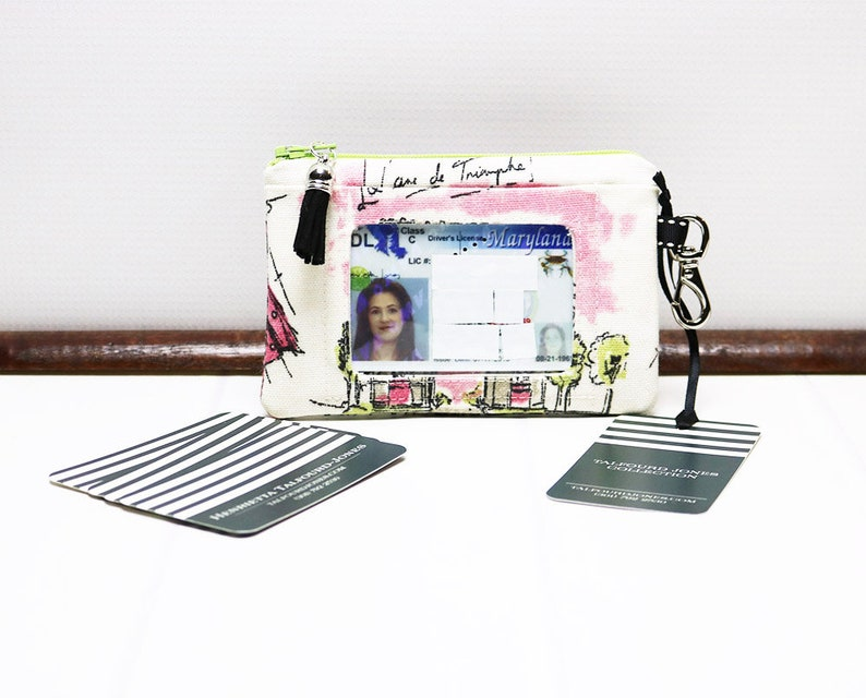 Minimalist Wallet ID Card Holder Credit Card Case Business image 0