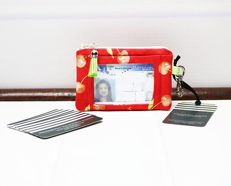 ID Card Holder with Trigger Snap Minimalist Wallet Business image 0