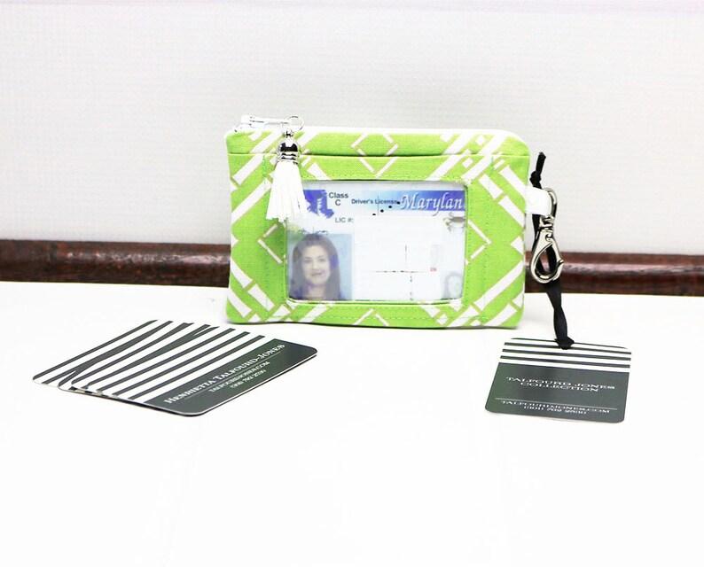 ID Card Holder Keychain Wallet  ID Wallet  ID Holder image 0